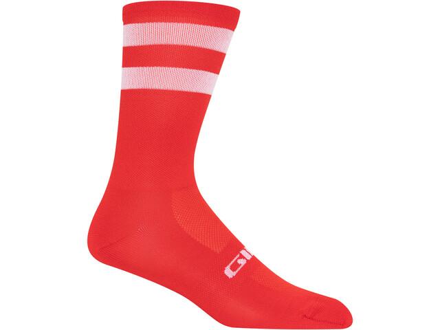 Giro Comp High Rise Sokken, rood